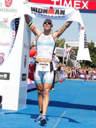 Toptriathlet Dirk Bockel landete ersten Ironman-Sieg
