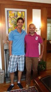 Timm Klose und Roman Gruber