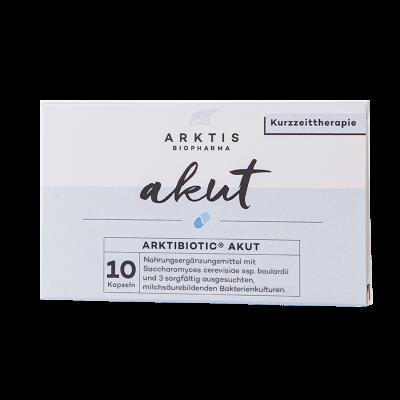 ARKTIBIOTIC Akut | AKUT 10 Kapseln - Nahrungsergänzungsmittel
