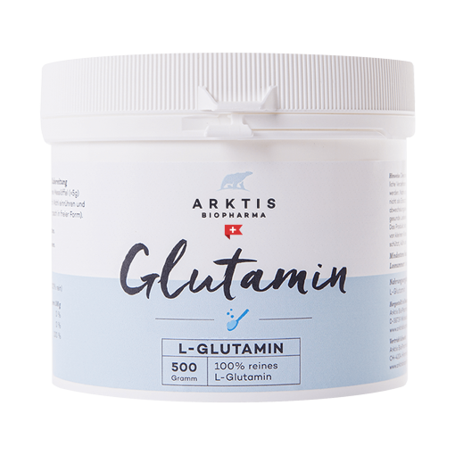 L-GLUTAMIN | GLUTAMIN 500g - Nahrungsergänzungsmittel