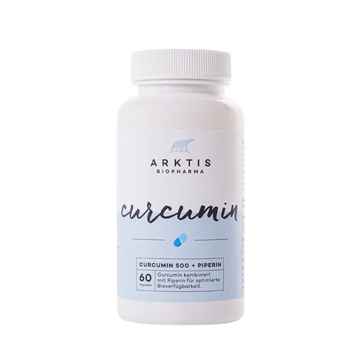 CURCUMIN 500 + PIPERIN| CURCUMIN - Nahrungsergänzungsmittel