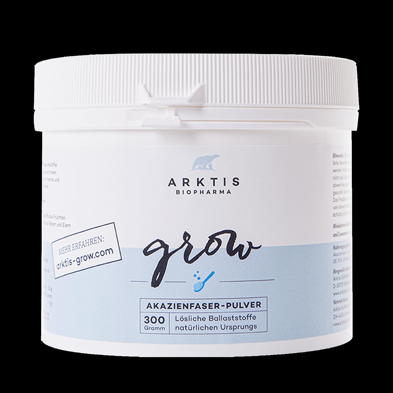 AKAZIENFASERN Pulver (BALLASTOFF)| GROW 300g - Nahrungsergänzungsmittel