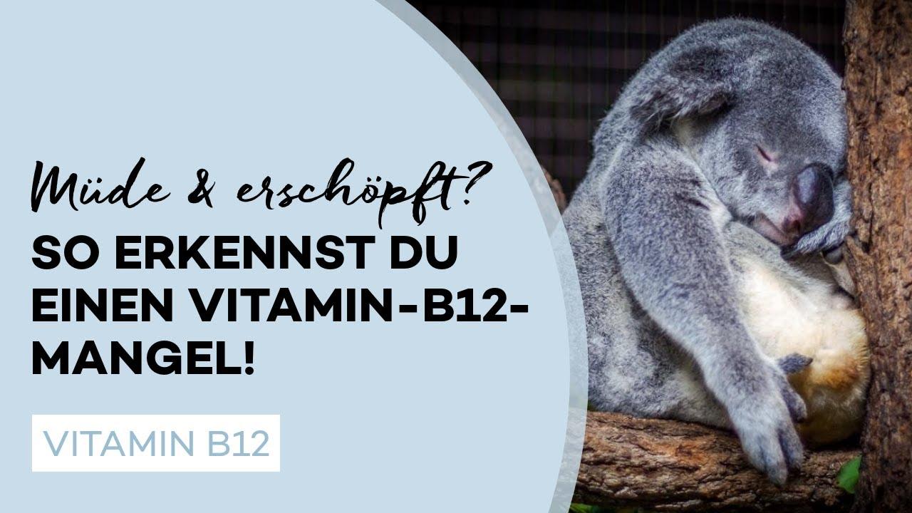 Vitamin B12 Mangel erkennen und vorbeugen