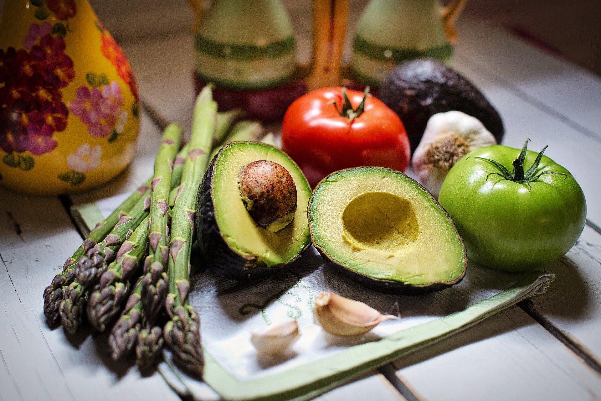 avokado vegetables