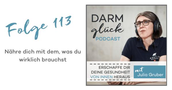 DG113: Nähre dich mit dem, was du wirklich brauchst – Warum Selbstfürsorge so wichtig ist