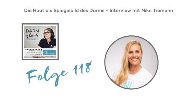DG118: Die Haut als Spiegelbild des Darms – Interview mit Nike Tiemann